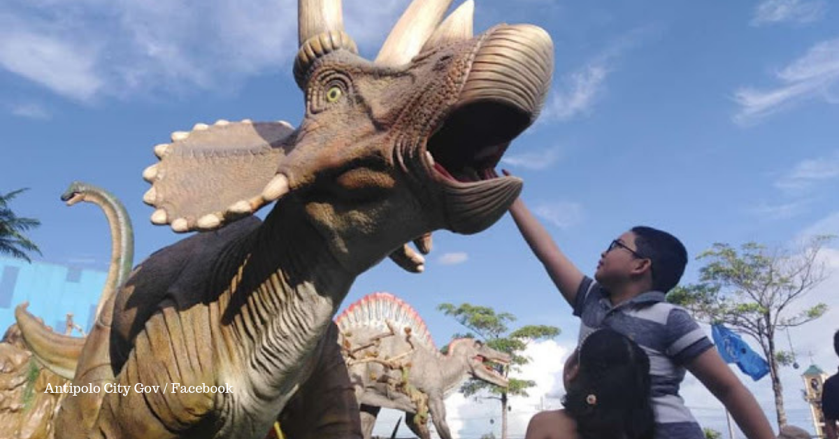 Antipolo Offers Dino Park, Open for Photos and Other Fun Activities