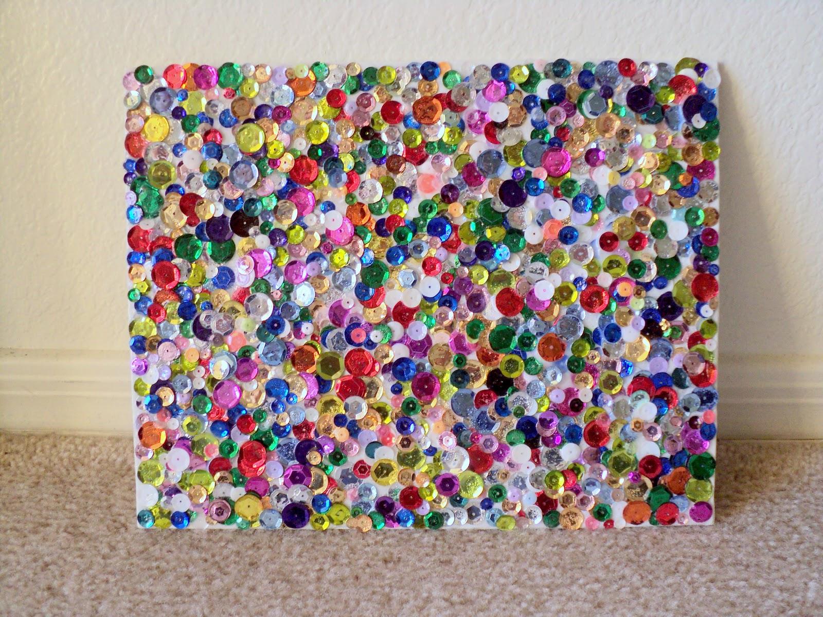 Vashti Couture: Sequin Wall Art