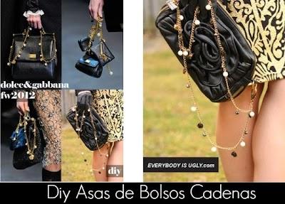 Diy Asas de Bolsos Dolce & Gabbana
