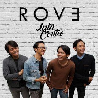 Lagu ini masih berupa single yang didistribusikan oleh label Rove Lirik Lagu Lain Cerita - Rove