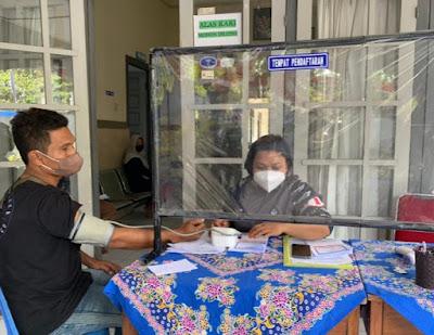 Serbuan Vaksinasi Lanal Mataram Capai 3000 Warga NTB