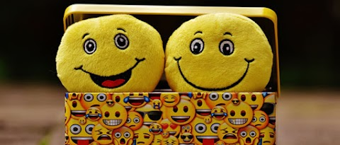 The iconic yellow smiley face