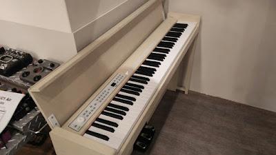 korg c1 air 打開琴蓋