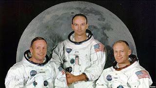 Memorabilia Astronaut Michael Collins Dipajang di Perpustakaan Kampus Virginia Tech