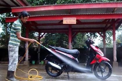 Modal usaha Cuci Motor cukup 3 juta nih Rinciannya