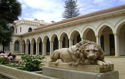 Palacio Vergara in Viña del Mar.