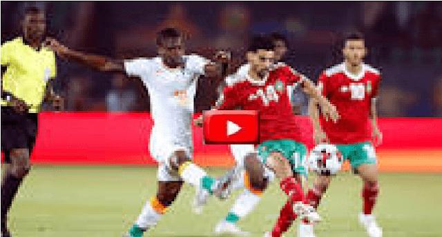 مشاهدة مبارة المغرب وجنوب افريقيا كأس الامم الافريقية يلا شوت