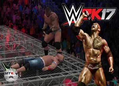 تحميل لعبة المصارعة WWE 2K17 كاملة للكمبيوتر بحجم صغير