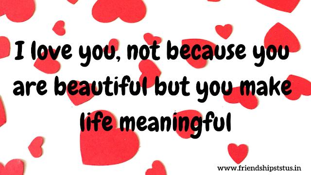 Beautiful Status About Love