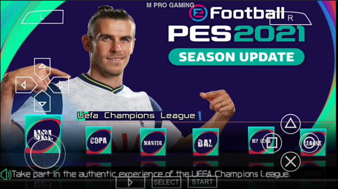 Download PES 2021 PPSSPP For Android Offline (560+30)MB (New Transfers Update September 24)