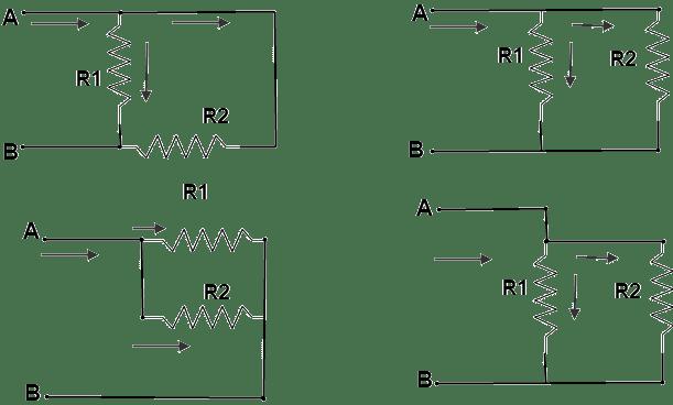 توصيل المقاومات على التوازي Parallel Connection