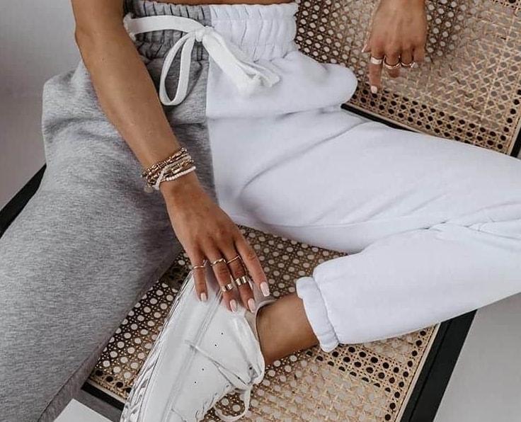 Pantaloni de dama de trening la moda ieftini & de firma