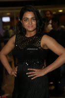 Wamiqa Gabbi in a sleeveless Black Designer Transparent Gown at 64th Jio Filmfare Awards South ~  Exclusive 104.JPG