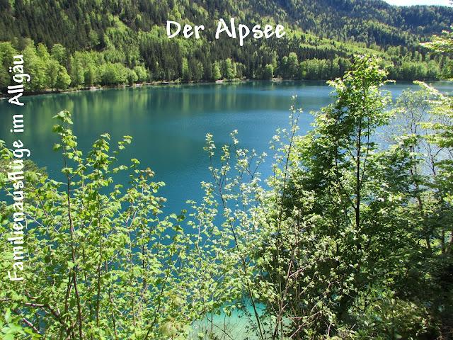 Der Alpsee bei Schwangau