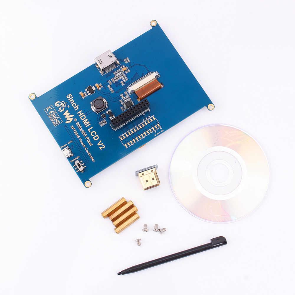 Making Waveshare 5 inch HDMI LCD work with BeagleBone Black