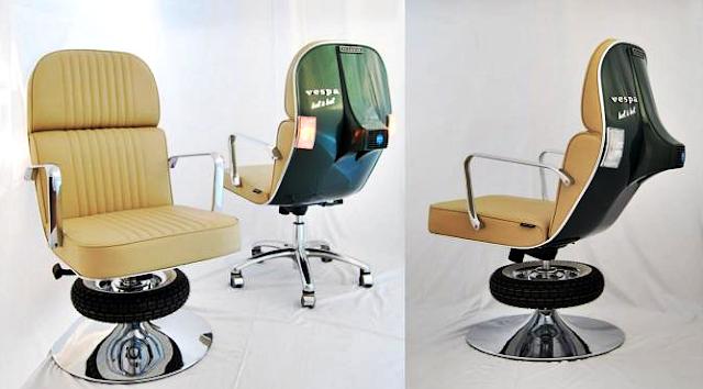 Kursi Kantor Unik dan Antik Model Vespa PX