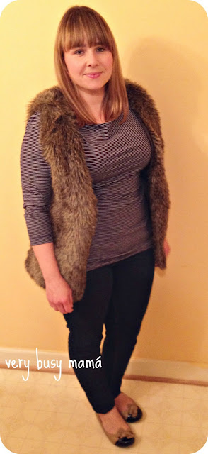 Fur faux vest from H&M