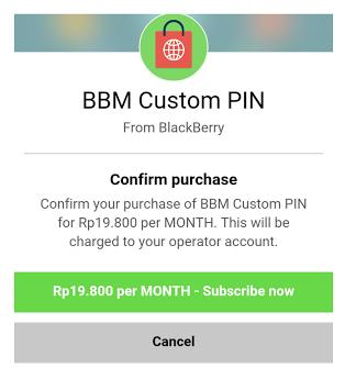 Cara Membuat Custom PIN BBM Sendiri di Android