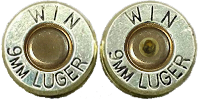 cartridges with live and fired caps
