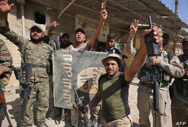 سوپای عێراق کوژرانی ٤٢  چەکداری داعشی راگەیاند