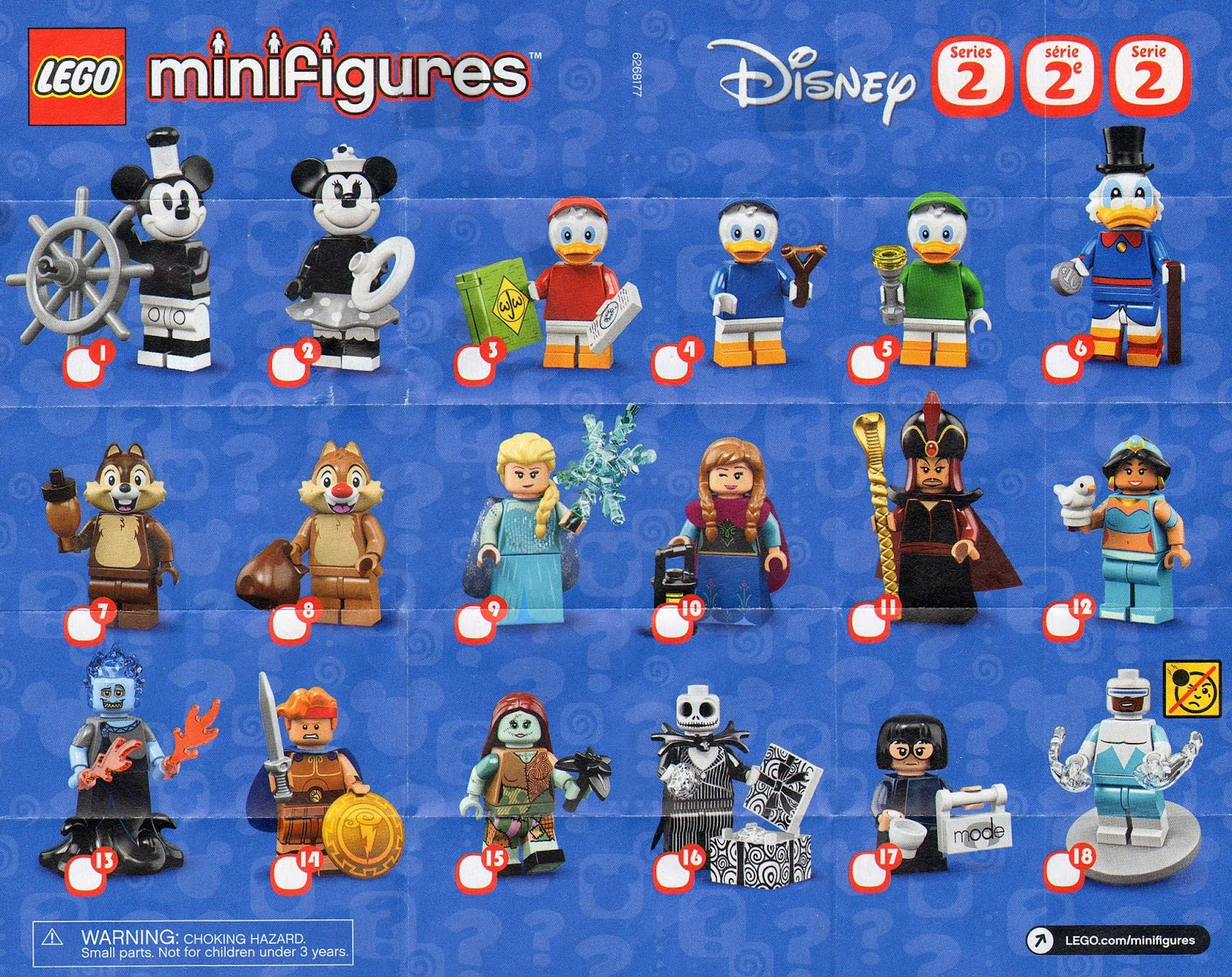 Complete Set LEGO Collectible Minifigure Series 1 Minifigures Forestman