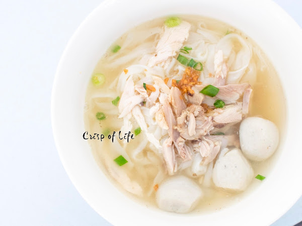 3 Kingdoms Koay Teow Thng and Duck Mee Sua 三国粿條汤,鸭腿面线 @ Sungai Ara, Penang