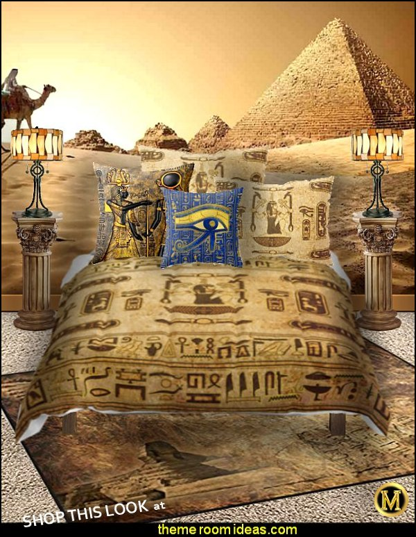 egyptian bedding egyptian rooms egyptian furniture pyramid murals pyramid home decor