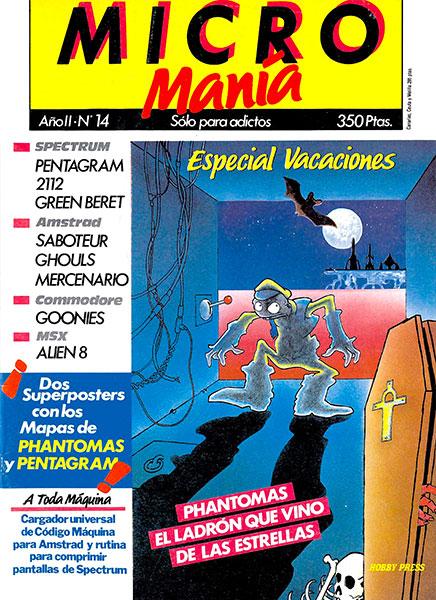 Revista Micromanía Número 14