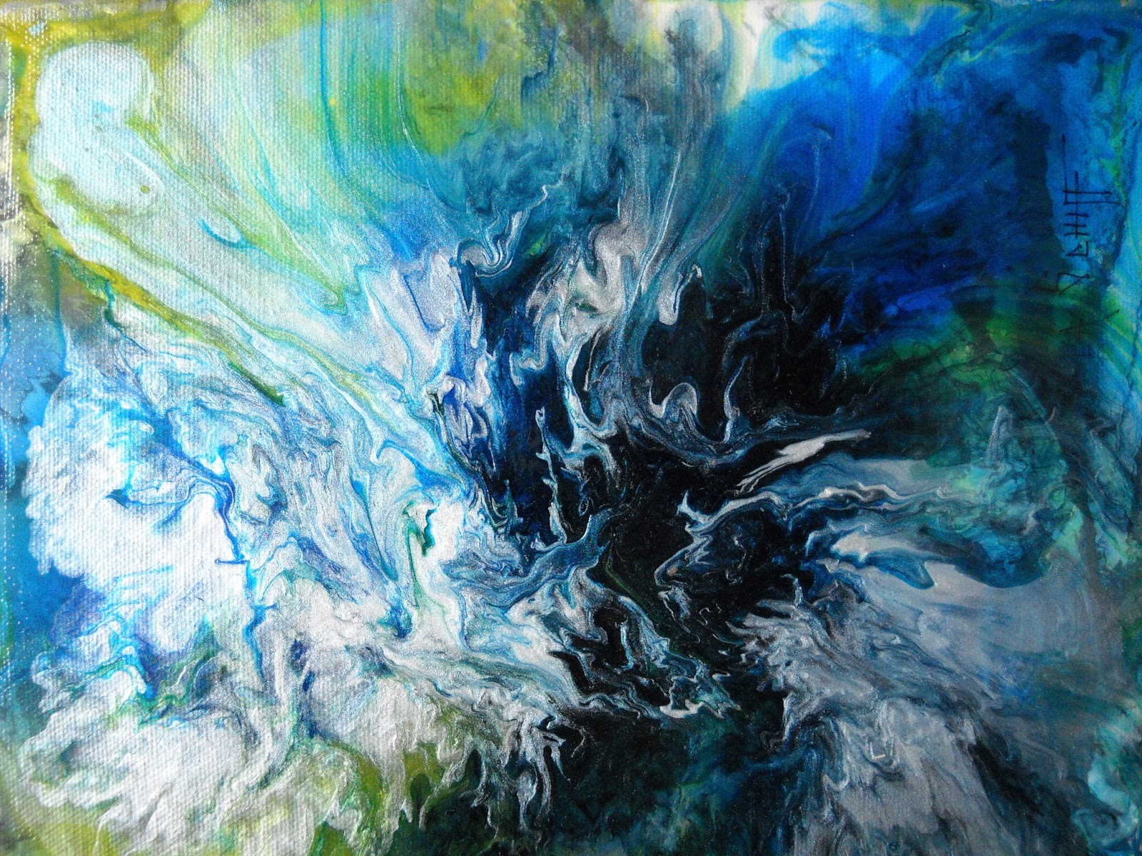 ABSTRACTIONS Abstract Paintings Daily Painter