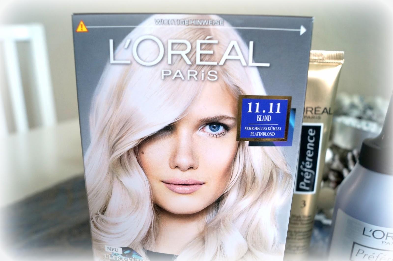 Haare selber farben loreal