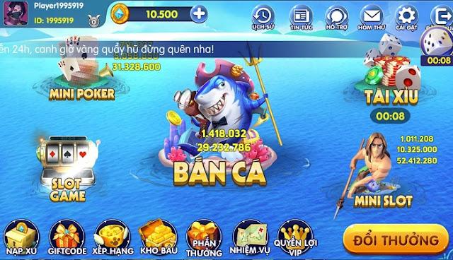 game ban ca an xu doi thuong