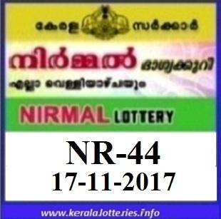 Nirmal NR-44 Result on 17-11-2017