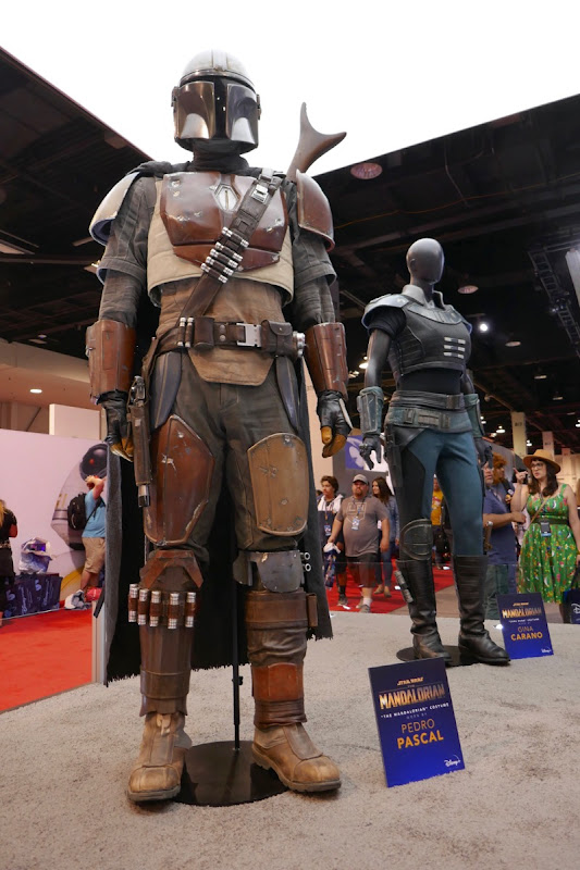 Star Wars Mandalorian TV costumes