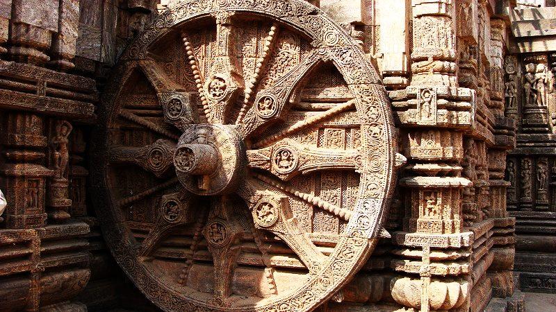 Konark Sun Temple Photo - Konark Sun temple History - Ancient Wheel, ancient history