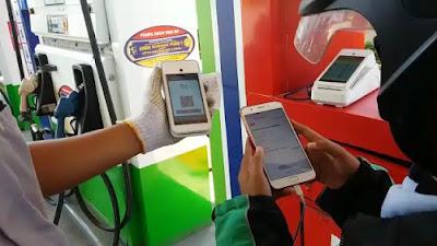 Terapkan Protokol Pencegahan Penularan COVID-19, Pertamina Ujicoba Transaksi Non-Tunai di Surabaya