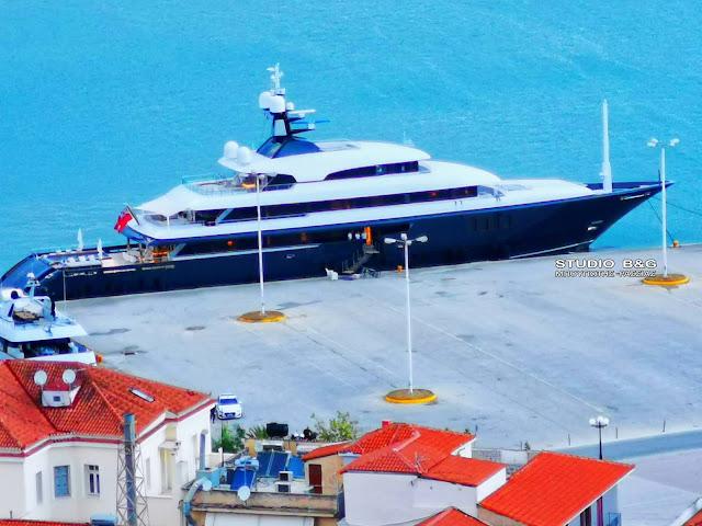 ICON: Ένα πλωτό παλάτι των 50.000.000€ έδεσε στο Ναύπλιο