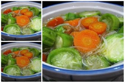 Sup Oyong, Resep Sup Oyong, masakan sehat, resep rahasia, hidangan buka puasa, buka puasa, wisata kuliner,