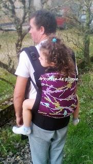 préformé madame GooGoo babycarrier portage porte-bébé neo toddler