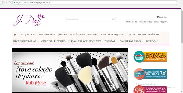Tá afim de vender maquiagem?