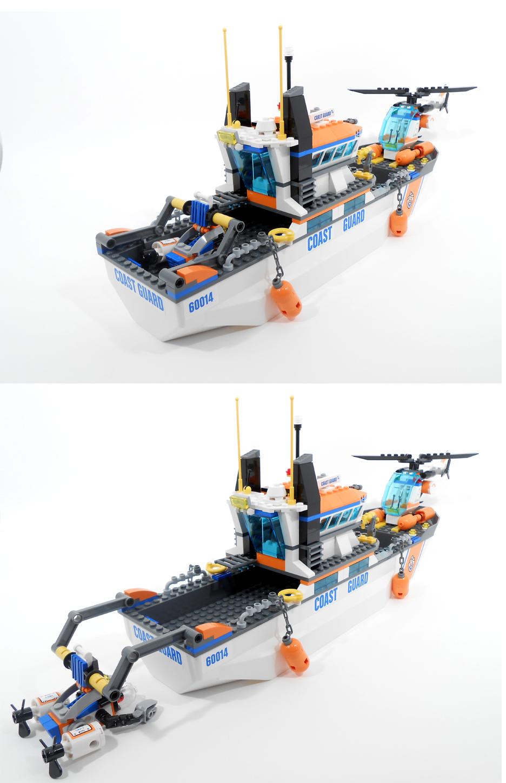 Oz Brick Nation: LEGO City 60014: Coast Guard Patrol Review