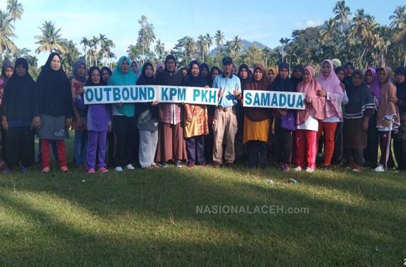 Pertemuan Peningkatan Kemampuan Keluarga (P2K2) dan Outbound PKH Samadua