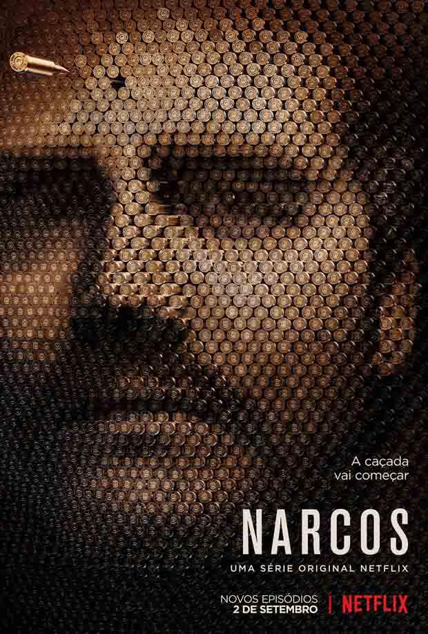 Narcos 2ª Temporada Torrent - 720p Dual Áudio (2016)