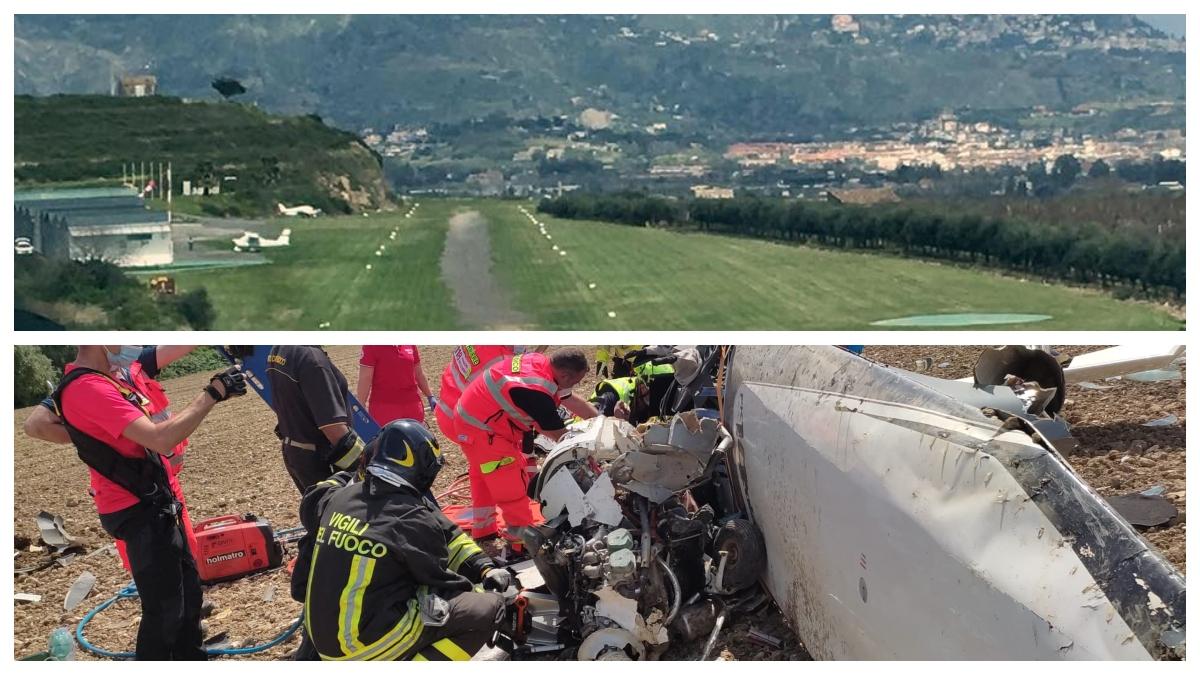 Finisce in tragedia un volo con ultraleggero partito da Catania