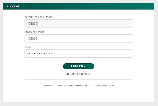 UTERM - přihlášení