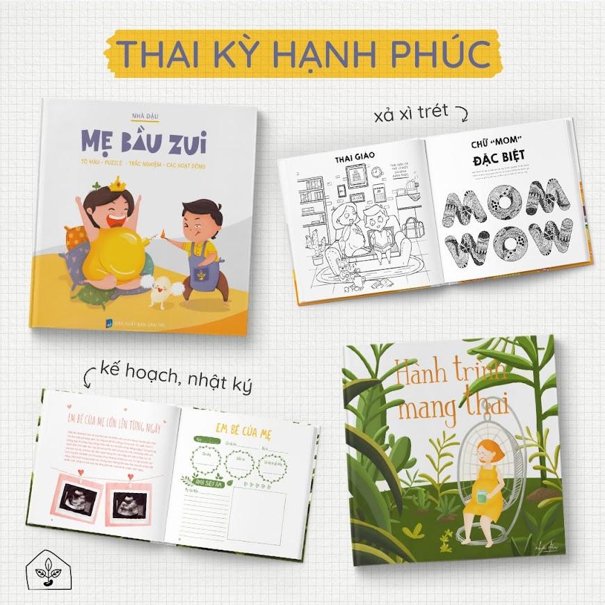 """[A116] 10 địa chỉ mua sách thai giáo """"Hành trình mang thai"""" tại Hà Nội"""