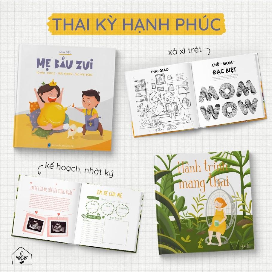 [A116] Mẹ Bầu Zui: Sách thai giáo kích thích khả năng ngôn ngữ của trẻ
