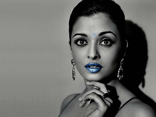 Aishwarya Rai Black And White Picture