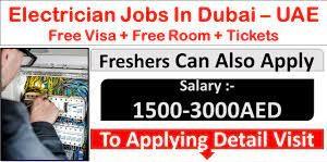 Electrician Job Recruitment Dubai For Construction work