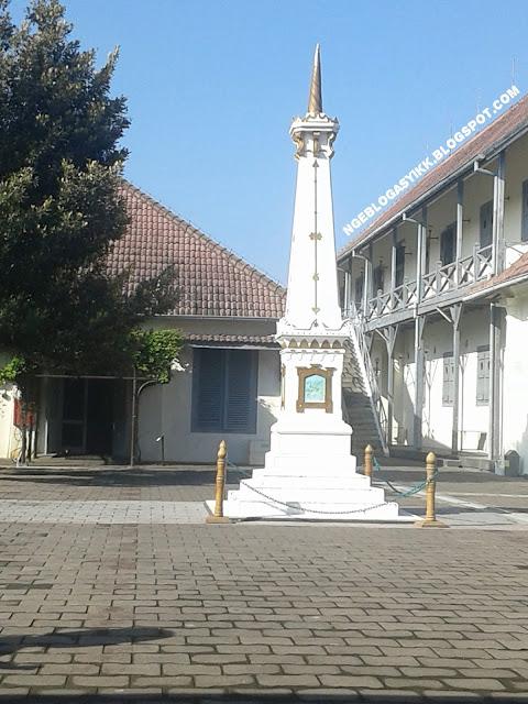 Ada Tugu Jogja di Museum Benteng Vredeburg Yogyakarta