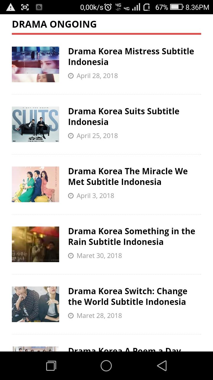 Drakorindo Something In The Rain : drakorindo, something, Anyeonghaseo, Situs, Download, Streaming, Drama, Korea
